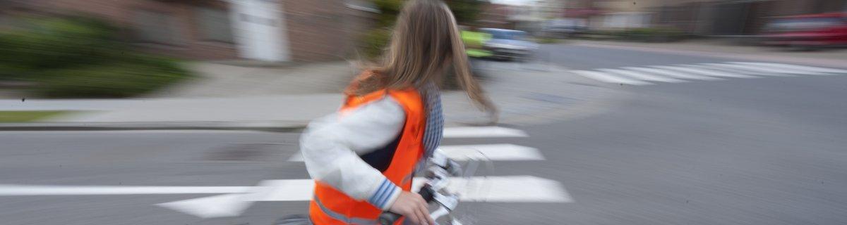 Bezorgdheid om veiligheid van kinderen in het verkeer